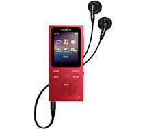 Lecteur MP3 Sony  NWE394R 8Go Rouge