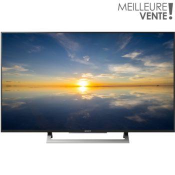 sony kd49xd8005 4k 200hz mxr smart tv t l viseur boulanger. Black Bedroom Furniture Sets. Home Design Ideas
