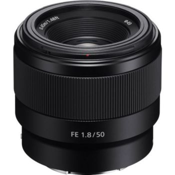 Sony FE 50 mm f/1.8 Noir