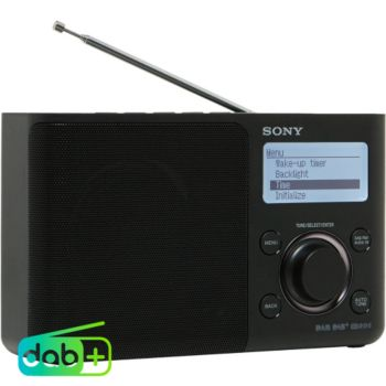 Sony XDRS61DB noir anthracite