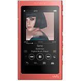 Lecteur MP3 Sony  NW-A45 rouge