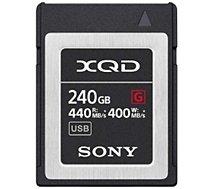 Carte XQD Sony  XQD 240Go G series