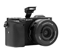 Appareil photo Hybride Sony  A6400 Noir + Objectif E PZ 16
