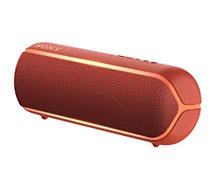 Enceinte Bluetooth Sony  SRS-XB22 Rouge Extra Bass