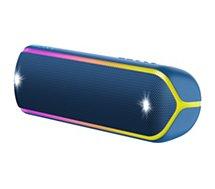Enceinte Bluetooth Sony  SRS-XB32 Bleu Extra Bass