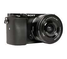 Appareil photo Hybride Sony  A6100 Noir + 16-50mm