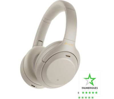 Casque Sony WH-1000XM4 Argent