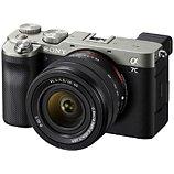 Appareil photo Hybride Sony  Alpha 7C + 28-60mm Silver