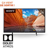 TV LED Sony KD-50X80J Google TV