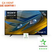 TV OLED Sony Bravia XR-65A80J Google TV