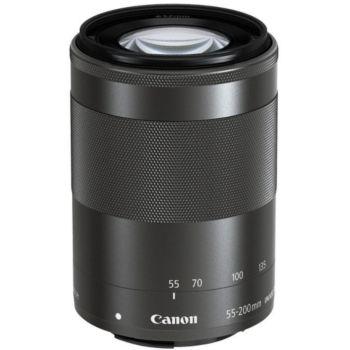Canon EF-M 55-200mm noir f/4.5-6.3 IS STM