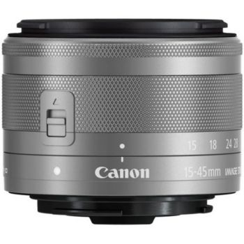Canon EF-M 15-45mm f3.5-6.3 IS STM Argent