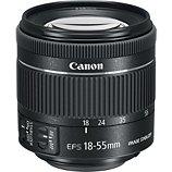 Objectif pour Reflex Canon  EF-S 18-55mm f/4-5.6 IS STM
