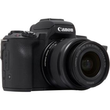Canon EOS M50 Noir + 15-45mm