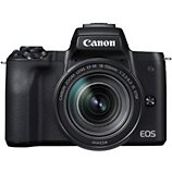 Appareil photo Hybride Canon  EOS M50 Noir + 18-150mm
