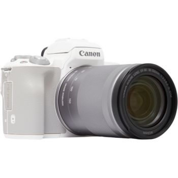 Canon EOS M50 Blanc + 18-150mm