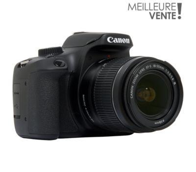 Appareil photo Reflex Canon EOS 4000D + EF-S 18-55 III