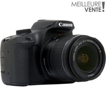 46057650eb3309 Canon EOS 4000D + EF-S 18-55 III Reflex   Boulanger