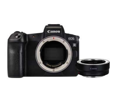 Appareil photo Hybride Canon EOS R nu + Bague d'adaptation EF EF-S