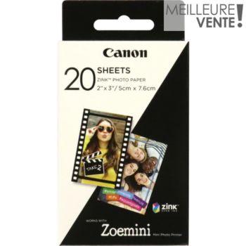 Canon 20 feuilles ZINK pour Zoemini