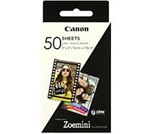 Papier photo Canon  50 feuilles ZINK pour ZOEMINI