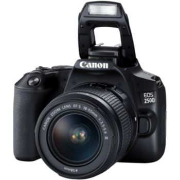 Canon EOS 250D Noir 18-55 IS STM