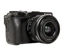 Appareil photo Hybride Canon  EOS M6 Mark II+ EF-M 15-45 + EVF