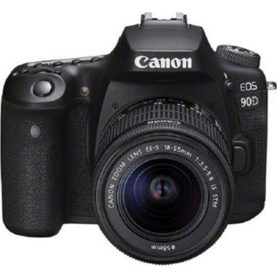 Location Appareil photo Reflex Canon EOS 90D + EF-S 18-55mm IS STM