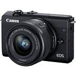 Appareil photo Hybride Canon  EOS M200 Noir + EF-M 15-45mm IS STM