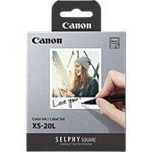 Papier photo instantané Canon Selphy Square QX10 (x20)