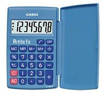 Calculatrice standard Casio  Petite FX bleu