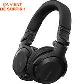Casque Pioneer Dj HDJ-CUE1BT-K Noir