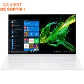 Ordinateur portable Acer Swift 7 SF714-52T-733G blanc