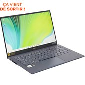 Ordinateur portable Acer Swift SF514-54T-741T Bleu