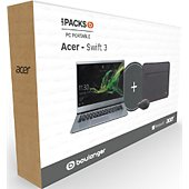 Ordinateur portable Acer Pack Swift SF314-41-R4W6 Gris