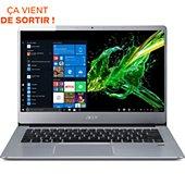 Ordinateur portable Acer Swift SF314-41-R7F6 Gris