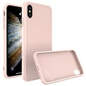 Coque Rhinoshield iPhone Xs SolidSuit rose