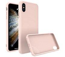 Coque Rhinoshield  iPhone Xs SolidSuit rose