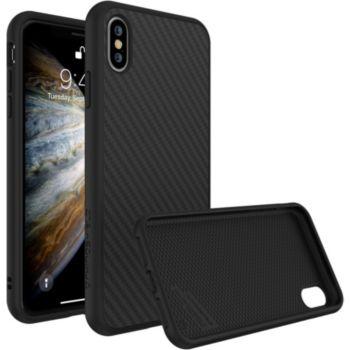 Rhinoshield iPhone Xs SolidSuit Carbone noir