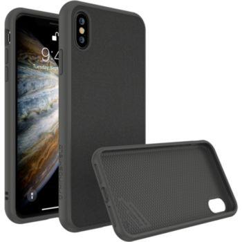 Rhinoshield iPhone Xs SolidSuit Microfibre noir