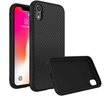 Coque Rhinoshield  iPhone Xr SolidSuit Carbone noir