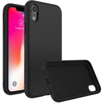 Rhinoshield iPhone Xr SolidSuit Carbone noir