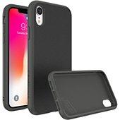 Coque Rhinoshield iPhone Xr SolidSuit Microfibre noir