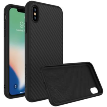 Rhinoshield iPhone Xs Max SolidSuit Carbone noir