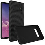 Coque Rhinoshield  Samsung S10+ SolidSuit Carbone noir