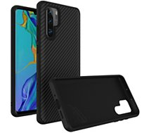 Coque Rhinoshield  Huawei P30 Pro SolidSuit Carbone noir