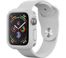 Coque Rhinoshield  Apple Watch 4/5/6/SE 44mm blanc