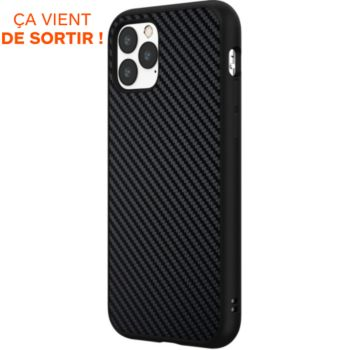 Rhinoshield iPhone 11 Pro SolidSuit Carbone noir