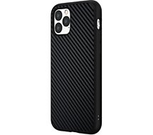 Coque Rhinoshield  iPhone 11 Pro SolidSuit Carbone noir