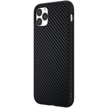 Rhinoshield iPhone 11 Pro Max SolidSuit Carbone noir